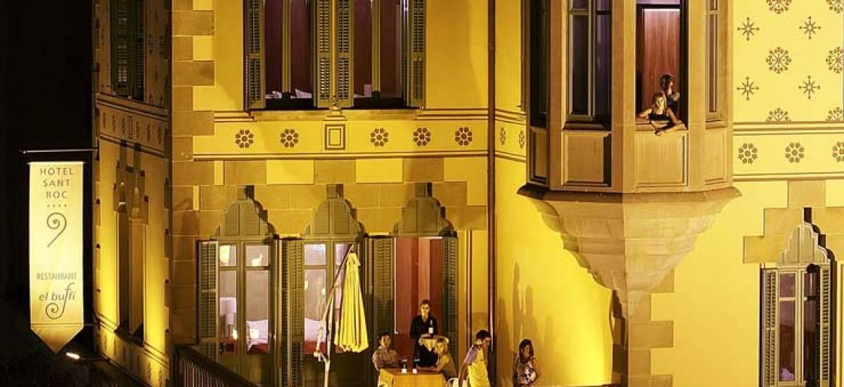 Rusticae Lleida charming Hotel Sant Roc outside