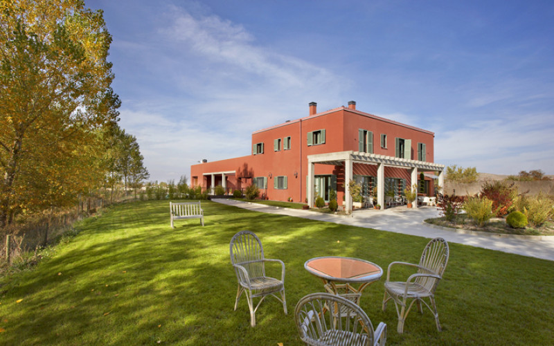 rusticae hotel with outdoor charm burgos