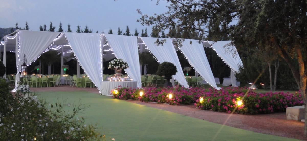Rusticae Alicante Hotel charming tent events