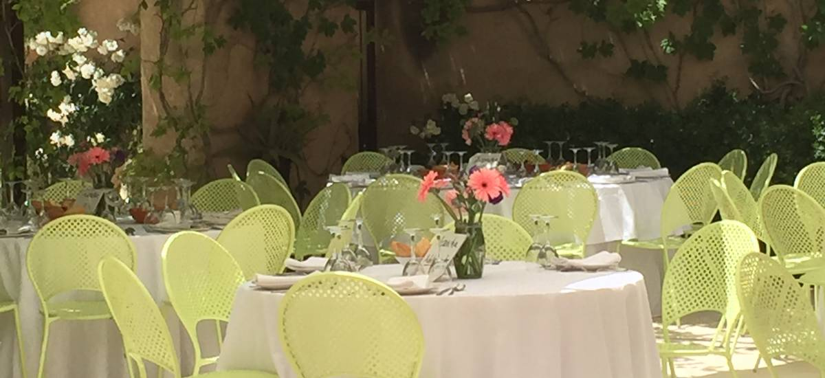 Rusticae Alicante Hotel charming dining room