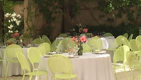 Rusticae Alicante Hotel con encanto Comedor al aire libre