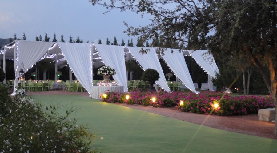 Rusticae Alicante Hotel con encanto Carpa de eventos
