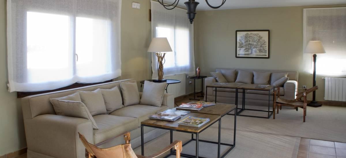 Rusticae Segovia Hotel Manantial chorro con encanto Zona común