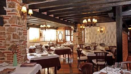 Rusticae Salamanca Hotel Villa Mogarraz con encanto Restaurante