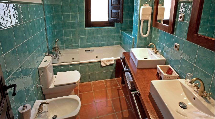 Rusticae Salamanca Hotel Villa Mogarraz con encanto Baño