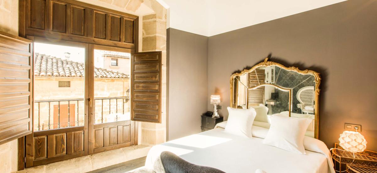 Hotel Teatrisso La Rioja Rusticae cama