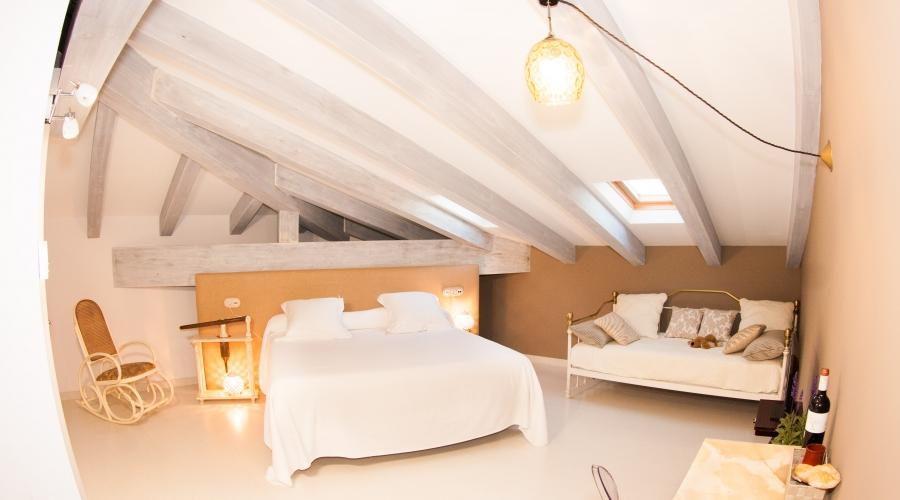 Rusticae La Rioja Hotel Teatrisso romántico habitación