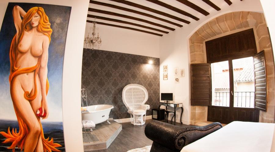 Rusticae La Rioja Hotel Teatrisso rural habitación