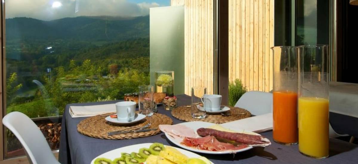 Rusticae Huesca charming Hotel Terra Bonansa breakfast