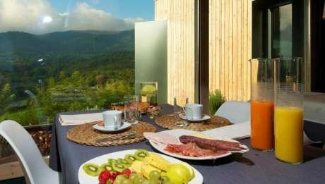 Rusticae Huesca Hotel Terra Bonansa con encanto desayuno
