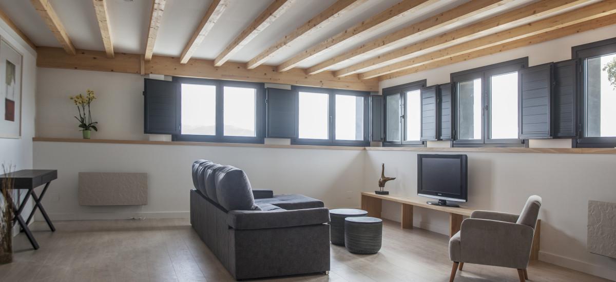 Hotel The Rock Suites & Spa interior livingroom 3