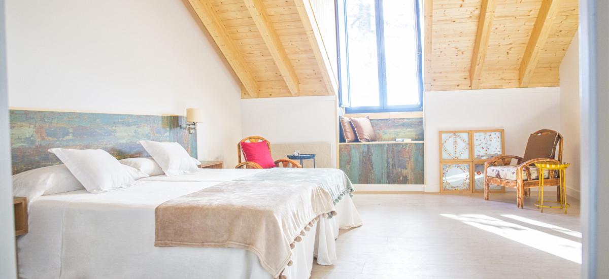 Hotel The Rock Suites & Spa habitación Rusticae