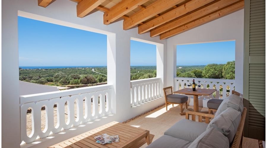 Rusticae Menorca Hotel Torralbenc con encanto teraza