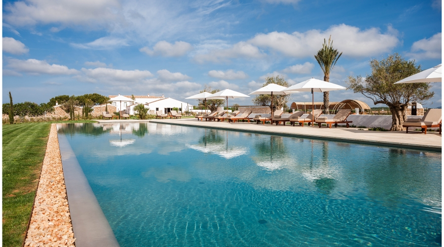 Rusticae Menorca Hotel Torralbenc con encanto piscina