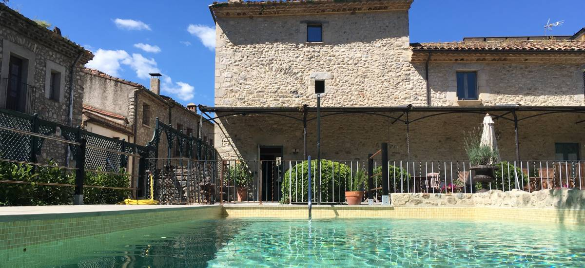 Rusticae charming Hotel Girona Gerona swimming pool