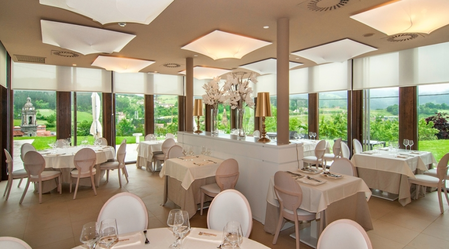 Rusticae Gipuzcoa Hotel con encanto Comedor