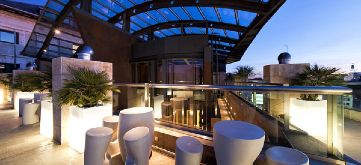 Rusticae Madrid charming Hotel Urban terrace