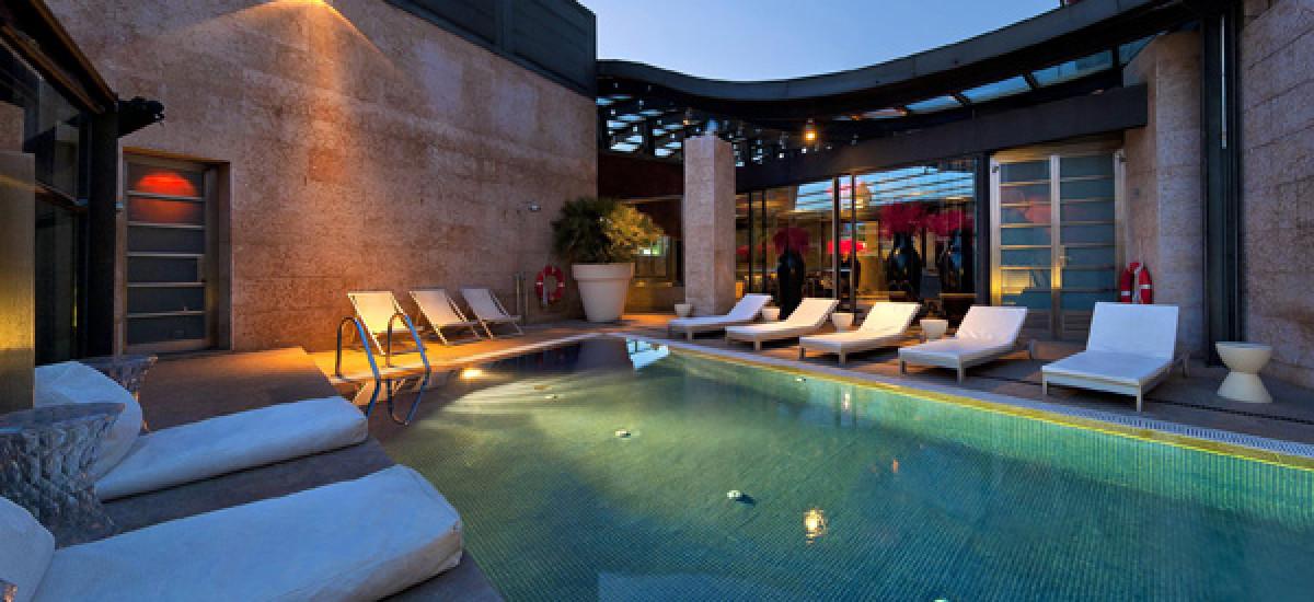 Rusticae Madrid charming Hotel Urban swimming pool