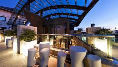 Rusticae Madrid Hotel Urban con encanto Terraza
