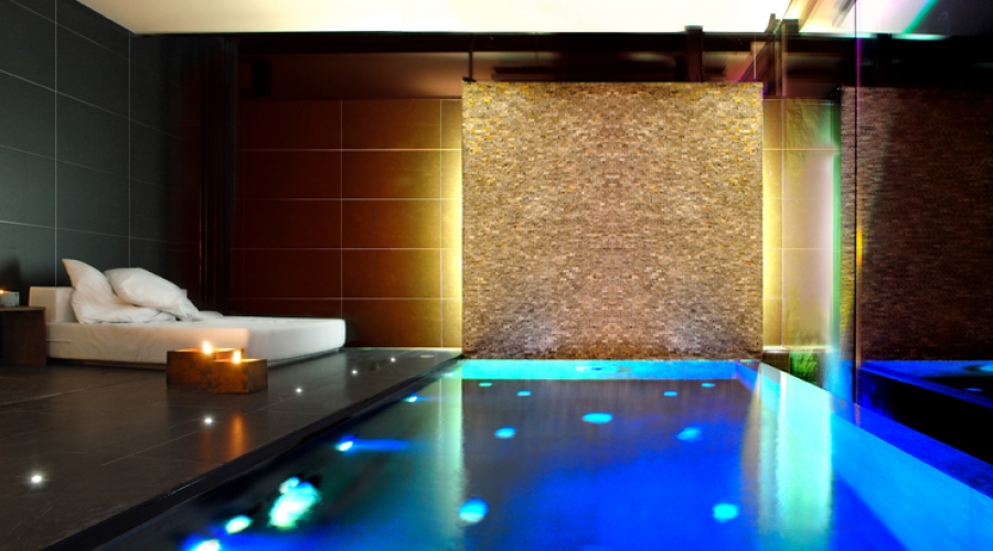 Rusticae Barcelona Hotel con encanto Habitación con piscina