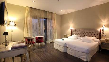Rusticae Toledo Hotel Villa Nazules gastronómico Habitación