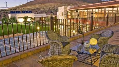 Rusticae Toledo Hotel Villa Nazules hípico Terraza