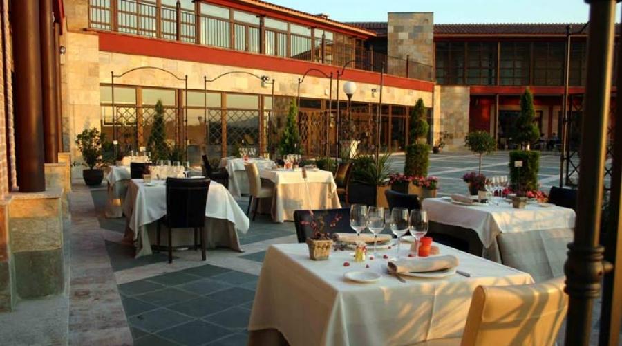 Rusticae Toledo Hotel Villa Nazules hípico Terraza Comedor
