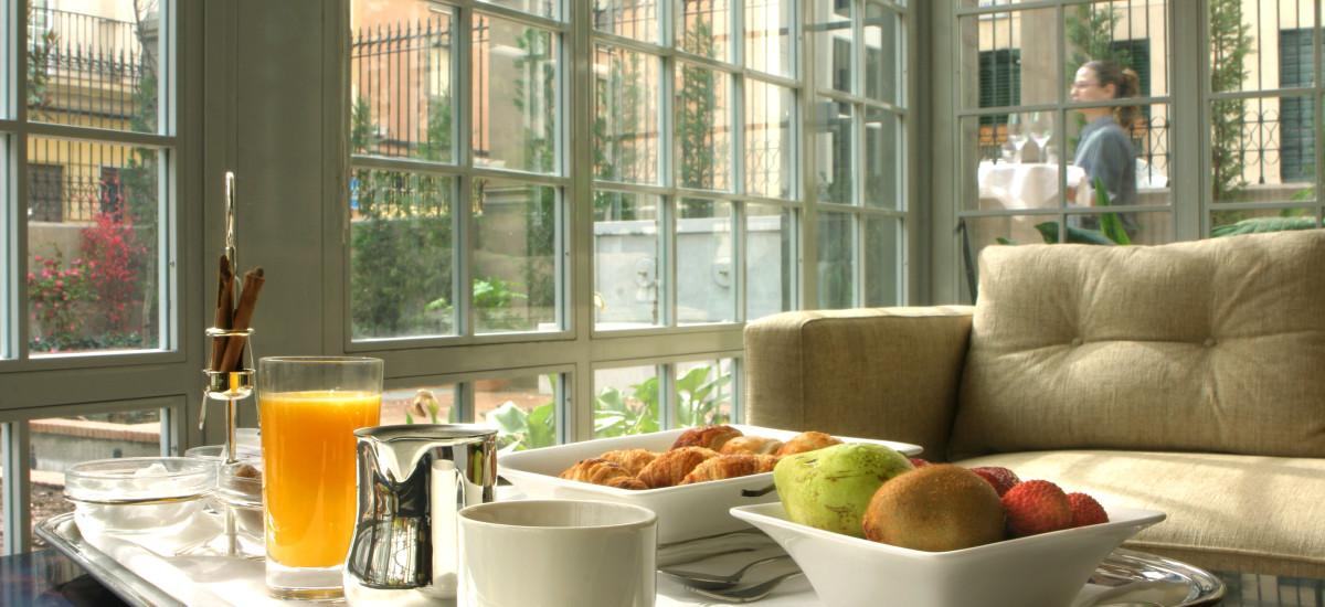 Rusticae Granada charming Hotel Villa Oniria breakfast