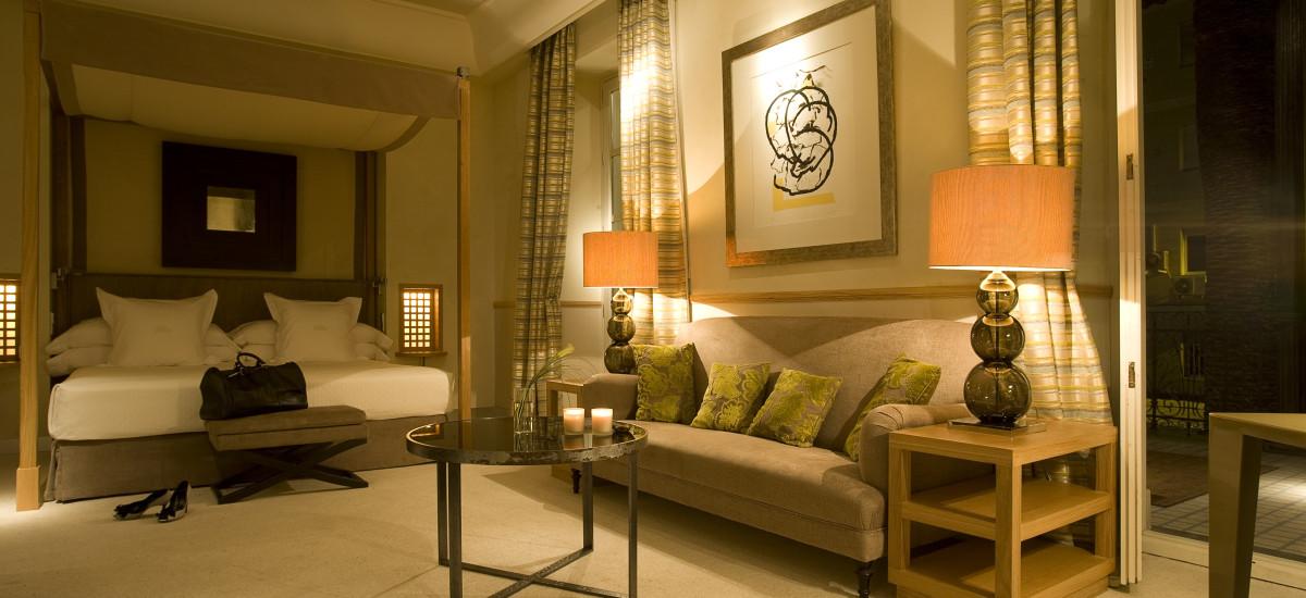 Rusticae Granada charming Hotel Villa Oniria bedroom