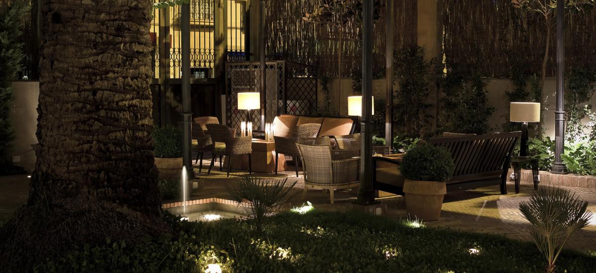 Rusticae Granada charming Hotel Villa Oniria terrace