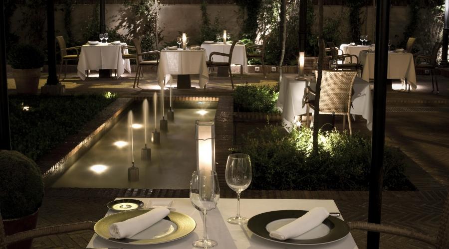 Rusticae Granada Hotel con encanto Comedor exterior