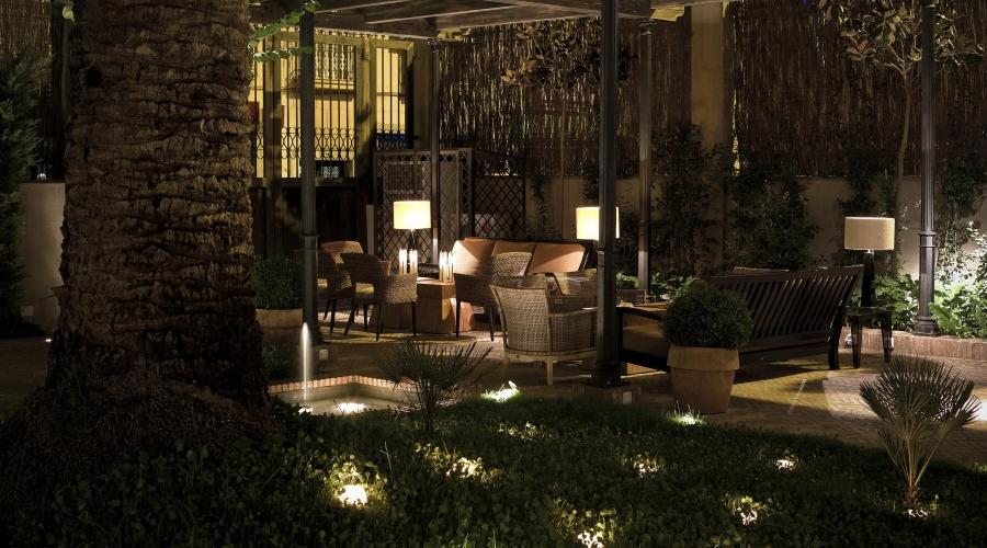 Rusticae Granada Hotel con encanto Terraza