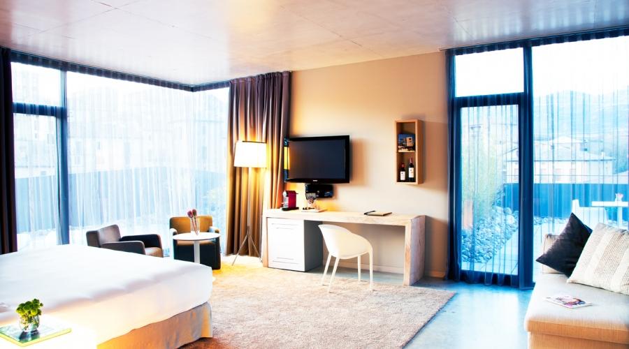 rusticae hotel álava araba con encanto habitación