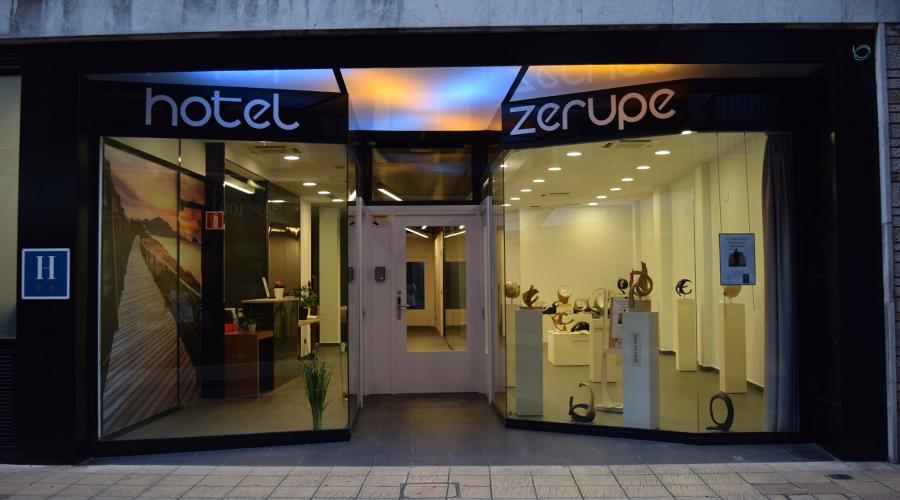 Rusticae Gipuzcoa Hotel con encanto Entrada
