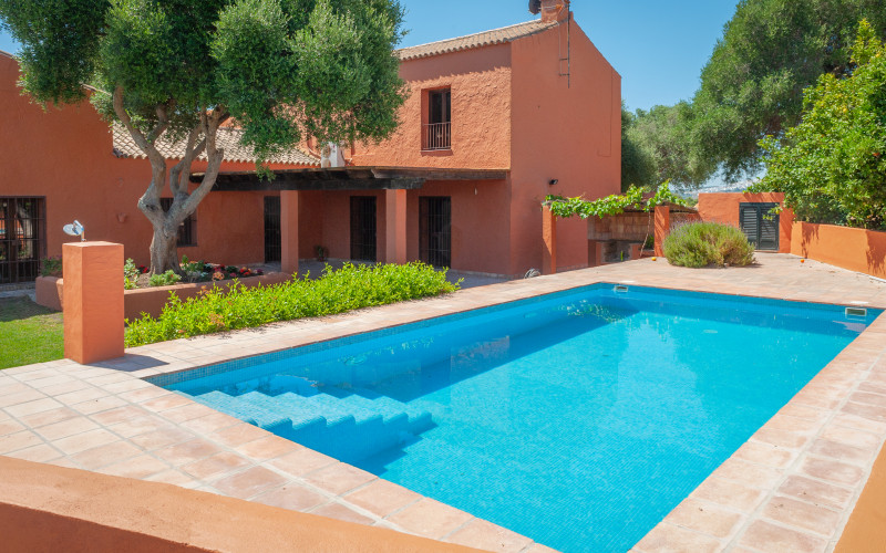 Rural House for Full Rental La Casa del Torero outdoor pool
