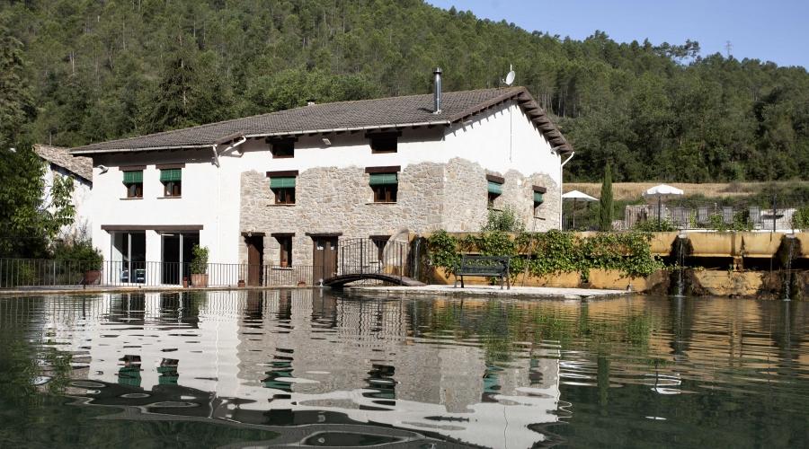 Rusticae Lleida Hotel con encanto Piscina