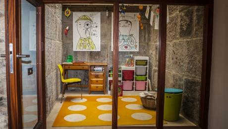 Rusticae Huesca Hotel con encanto Zona de juegos