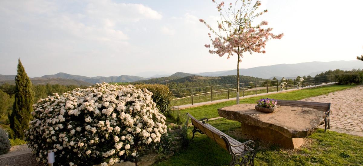 La Garriga de Castelladral Hotel garden Rusticae