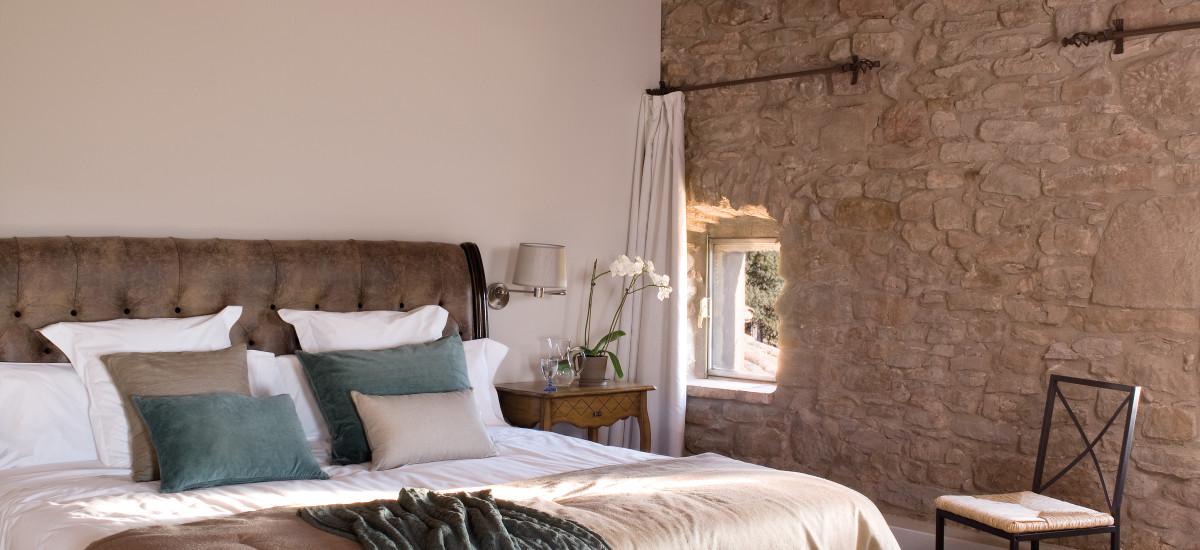 La Garriga de Castelladral habitación Hotel Rusticae