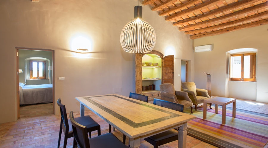 Rusticae Hotel Girona Gerona con encanto Salón comedor