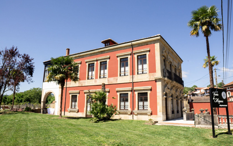 Hotel Casa Rural The sale of the Entrance Building Miyares Astur