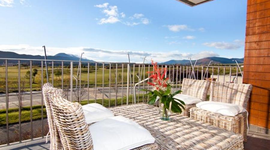 Rusticae Huesca Hotel con encanto Terraza