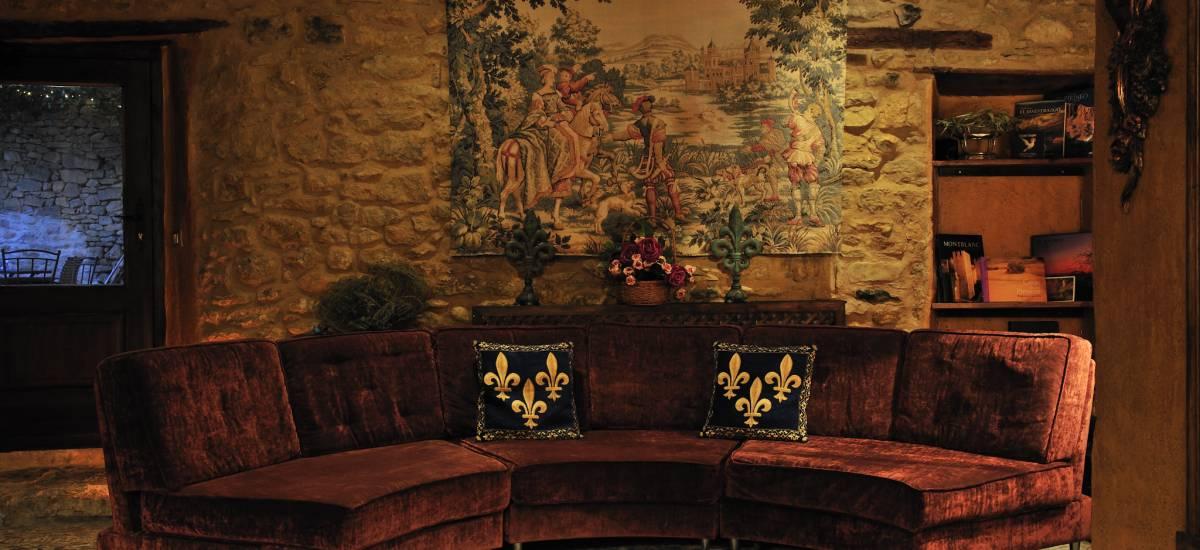 Rusticae Teruel charming Hotel Moradas Temple living room