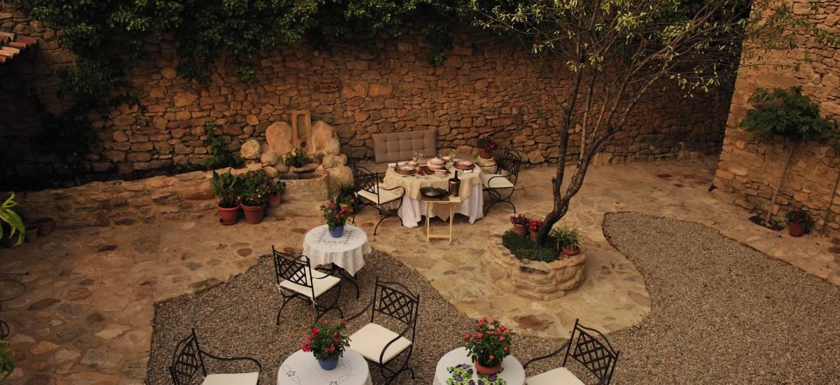 Rusticae Teruel charming Hotel Moradas Temple terrace