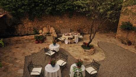 Rusticae Teruel Hotel Moradas Temple para adultos terraza