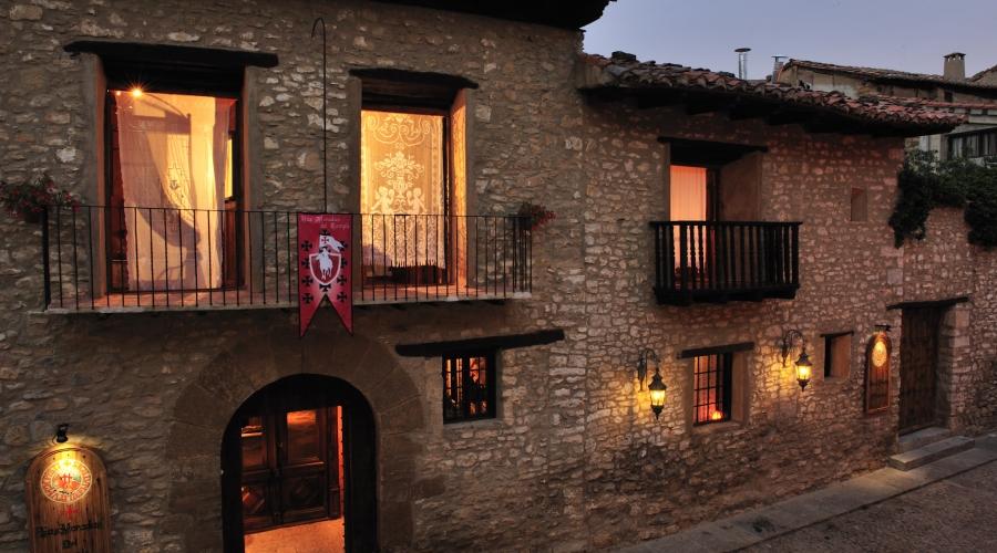 Rusticae Teruel Hotel Moradas Temple con encanto exterior
