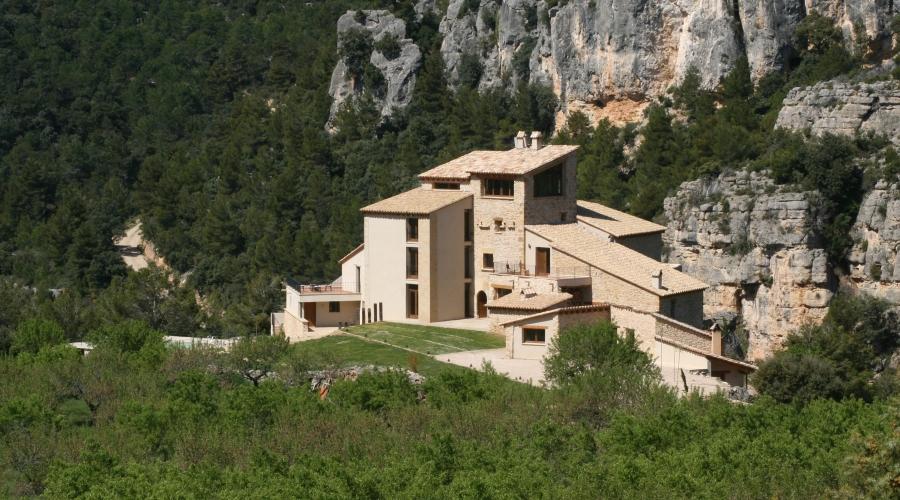 Rusticae Teruel Hotel Mas de la Serra romantico exterior