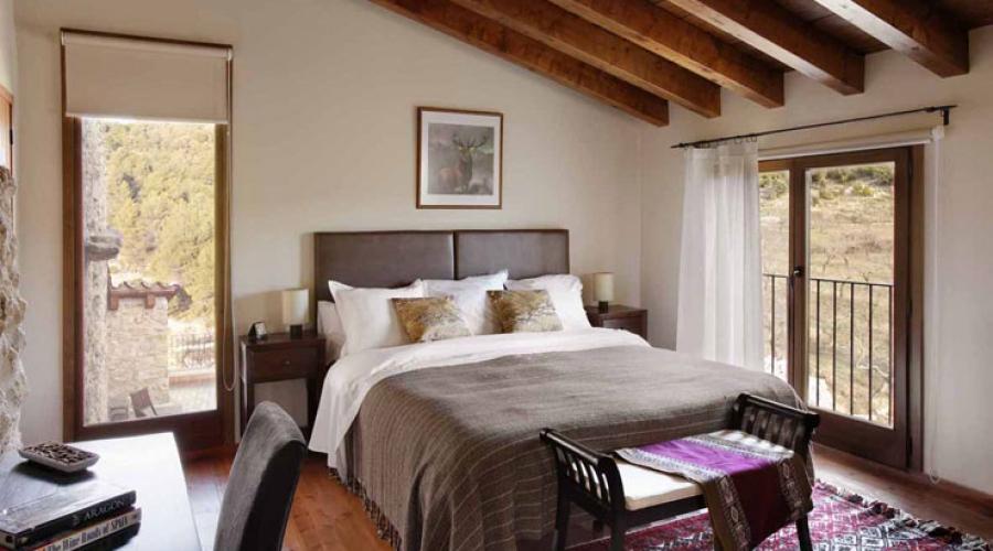 Rusticae Teruel Hotel Mas de la Serra romantico habitacion