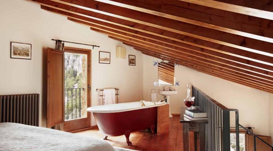 Rusticae Teruel Hotel Mas de la Serra con encanto habitacion