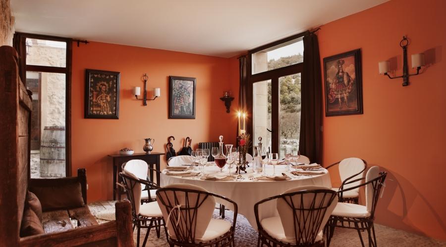 Rusticae Teruel Hotel Mas de la Serra con encanto comedor